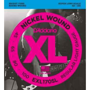 D´addario EXL170SL Nickel Wound cuerdas para bajo